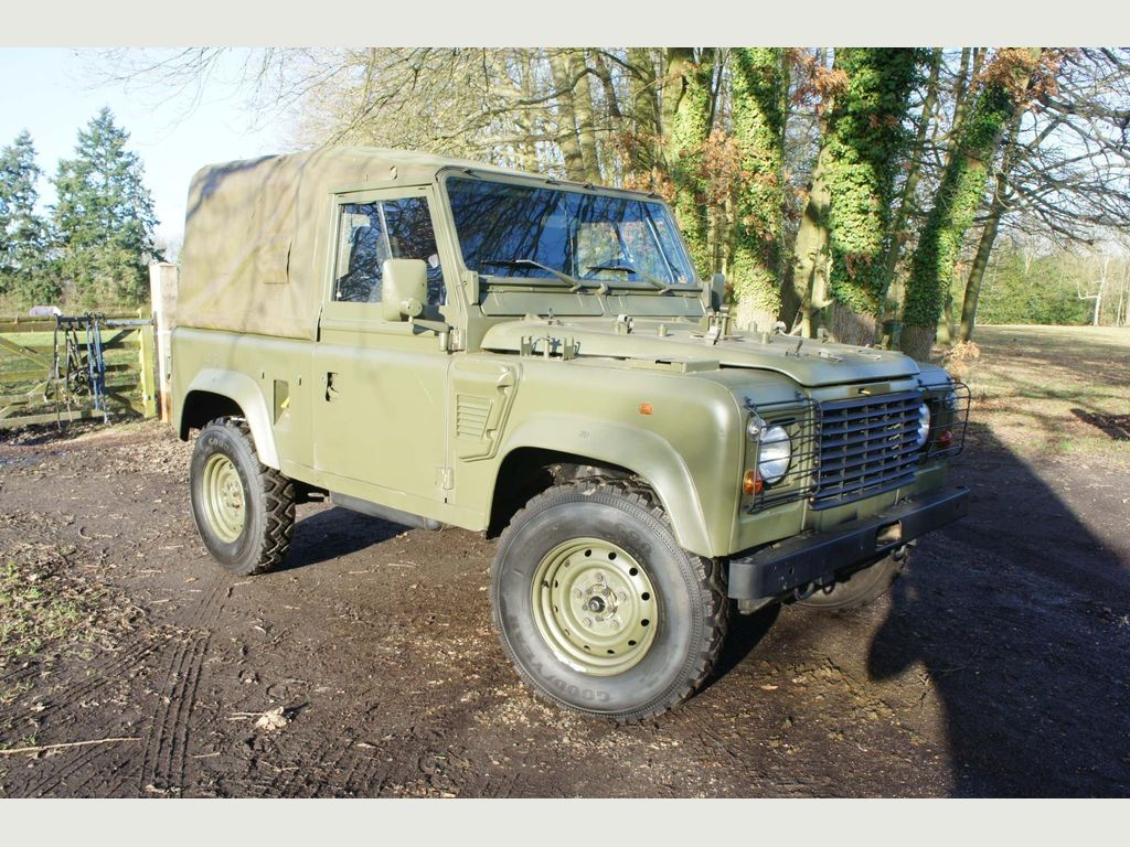 Land Rover Defender 90 Pickup 90 WOLF 300TDI