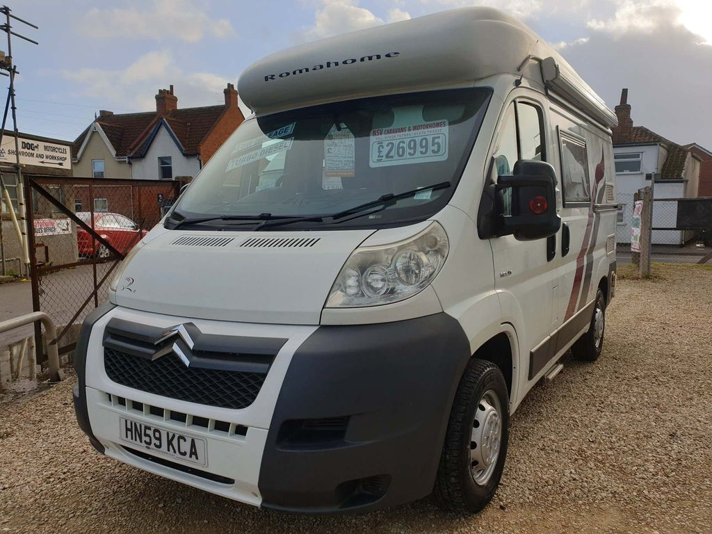 Romahome Dimension High Top Citroen relay 2.2 hdi