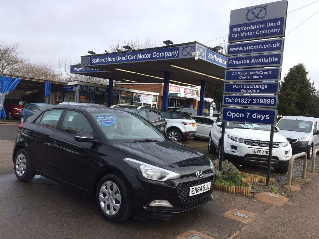 Hyundai i20 Hatchback 1.2 Blue Drive S Air (s/s) 5dr