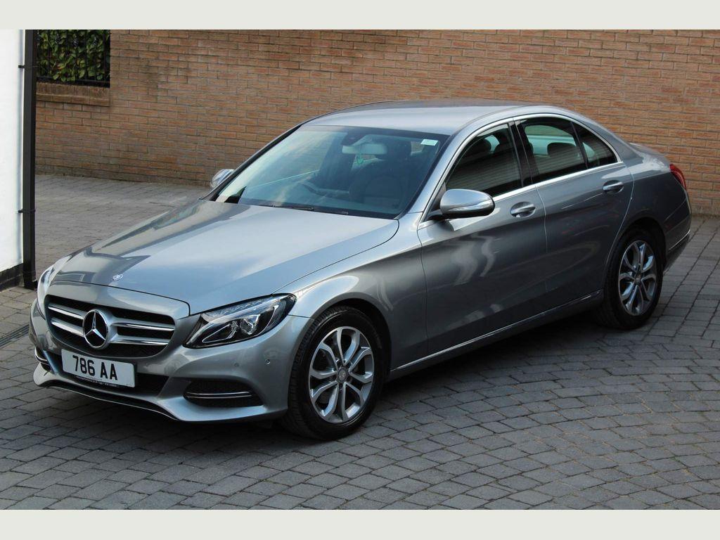 Mercedes-Benz C Class Saloon 2.1 C220 CDI BlueTEC Sport G-Tronic+ (s/s) 4dr