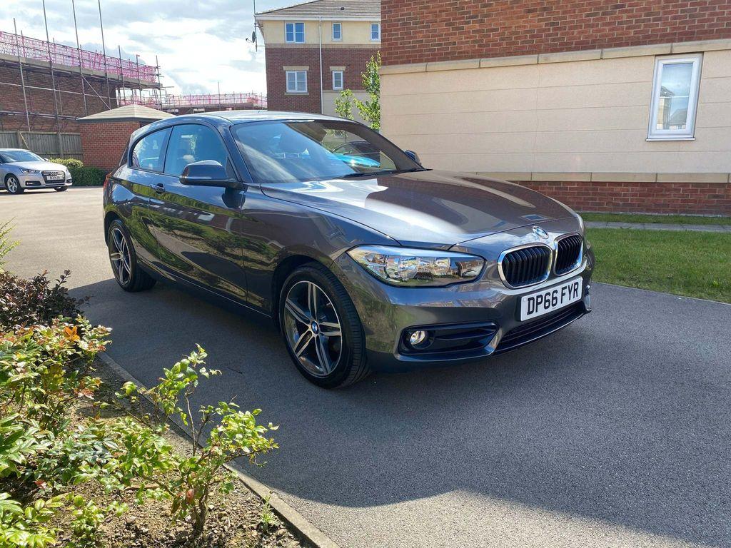 BMW 1 Series Hatchback 1.5 116d Sport (s/s) 3dr