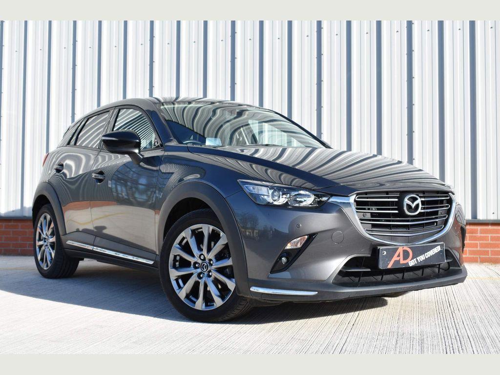 Mazda CX-3 SUV 2.0 SKYACTIV-G Sport Black+ (s/s) 5dr