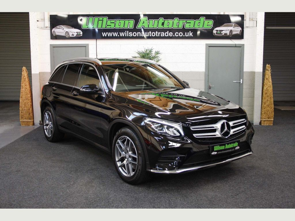 Mercedes-Benz GLC Class SUV 2.1 GLC250d AMG Line G-Tronic 4MATIC (s/s) 5dr