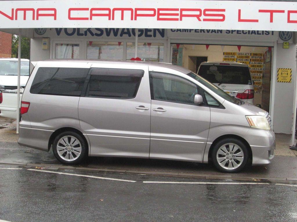 Toyota ALPHARD CAMPER Motorhome 2 BERTH CAMPERVAN