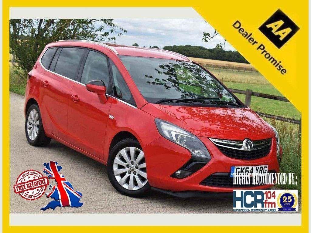 Vauxhall Zafira Tourer MPV 1.8 i VVT 16v Tech Line 5dr