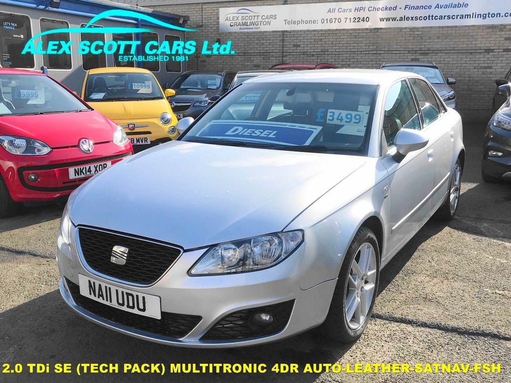 SEAT Exeo Saloon 2.0 TDI DPF SE (Tech Pack) Multitronic 4dr