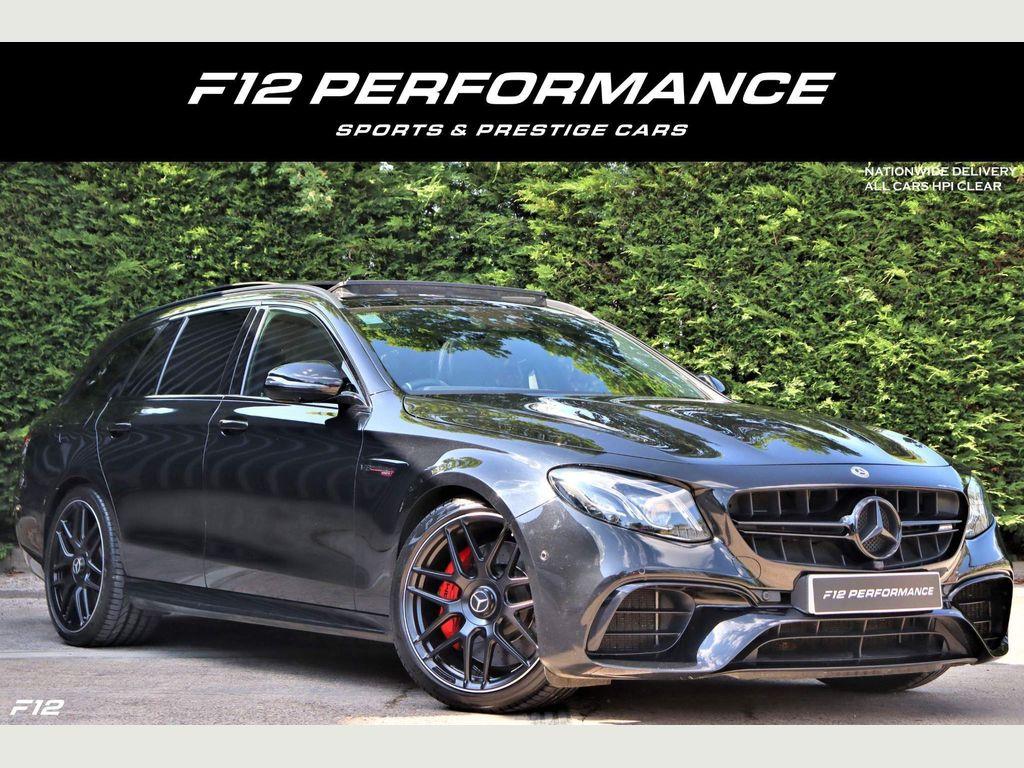 Mercedes-Benz E Class Estate 4.0 E63 BiTurbo V8 AMG S SpdS MCT 4MATIC+ (s/s) 5dr