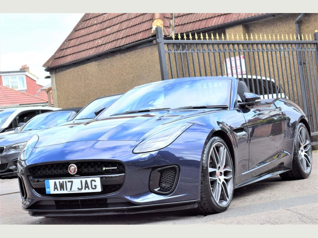 Jaguar F-Type Convertible 3.0 V6 R-Dynamic Auto AWD (s/s) 2dr
