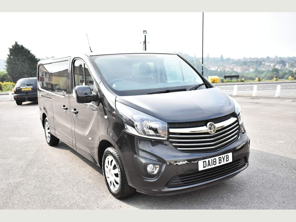 Vauxhall Vivaro Combi Van 1.6 CDTi 2900 BiTurbo ecoTEC Sportive Crew Van L2 H1 EU6 (s/s) 5dr (6 Seat)