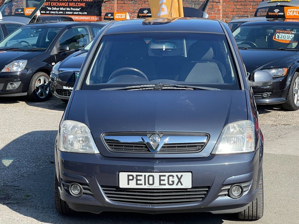 Vauxhall Meriva MPV 1.4 i 16v Active Plus 5dr
