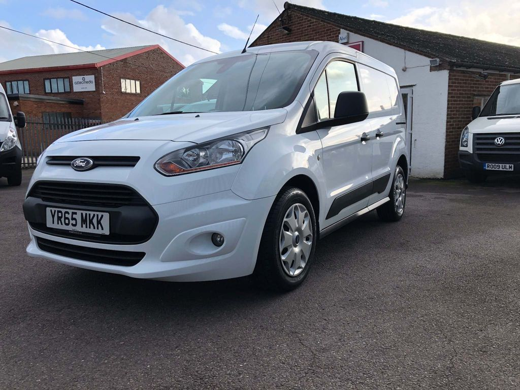 FORD TRANSIT CONNECT Panel Van 1.6TDCi 95BHP Trend Van 3Seats & Air Con