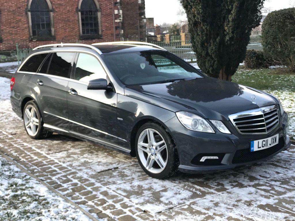Mercedes-Benz E Class Estate 3.0 E350 CDI BlueEFFICIENCY Sport Auto 5dr