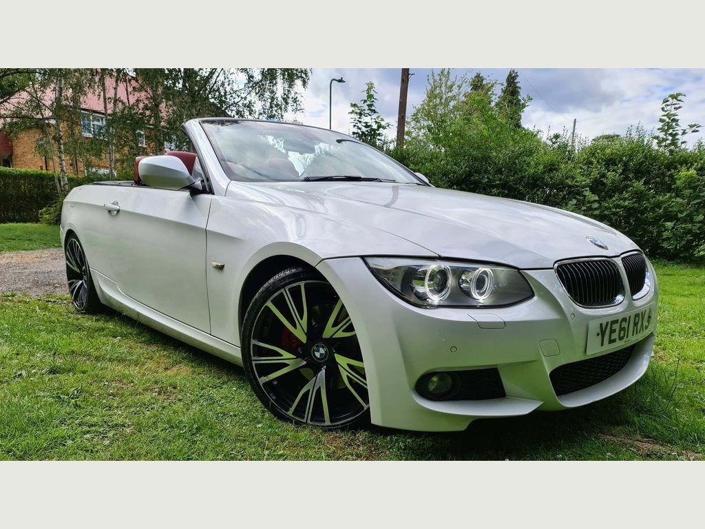 BMW 3 Series Convertible 3.0 330d M Sport Auto 2dr