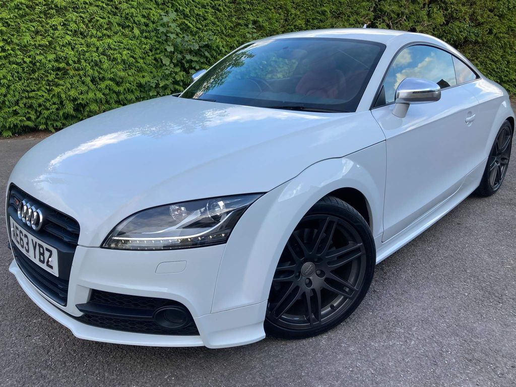 Audi TTS Coupe 2.0 TFSI Black Edition S Tronic quattro 3dr