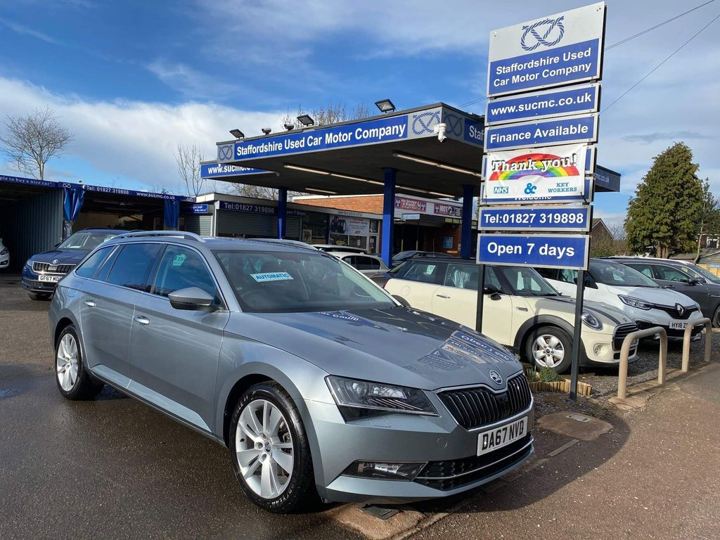 SKODA Superb Estate 2.0 TDI SE L Executive DSG (s/s) 5dr