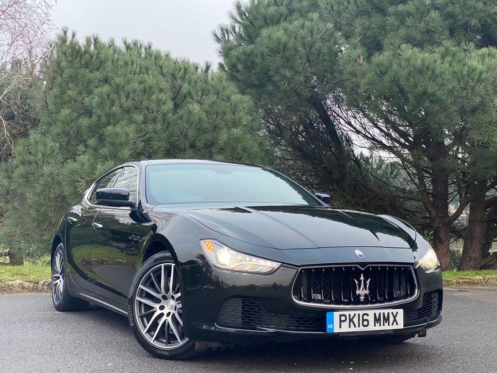 Maserati Ghibli Saloon 3.0 TD V6 (s/s) 4dr (EU5)