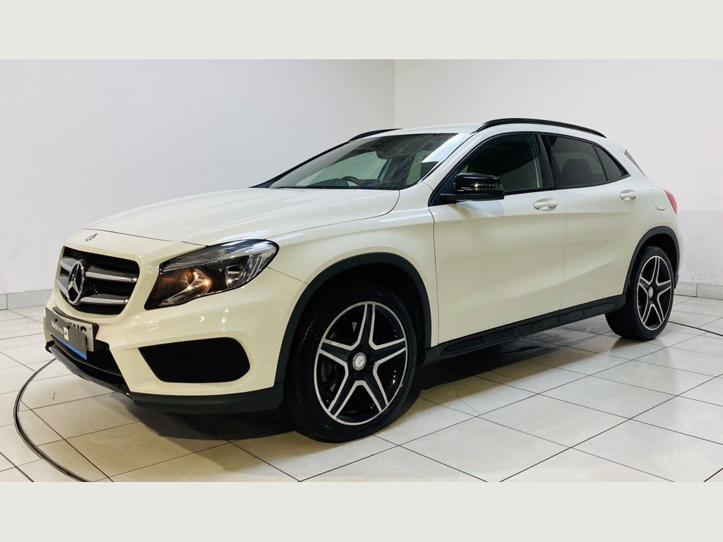 Mercedes-Benz GLA Class SUV 2.1 GLA220 AMG Line 7G-DCT 4MATIC (s/s) 5dr