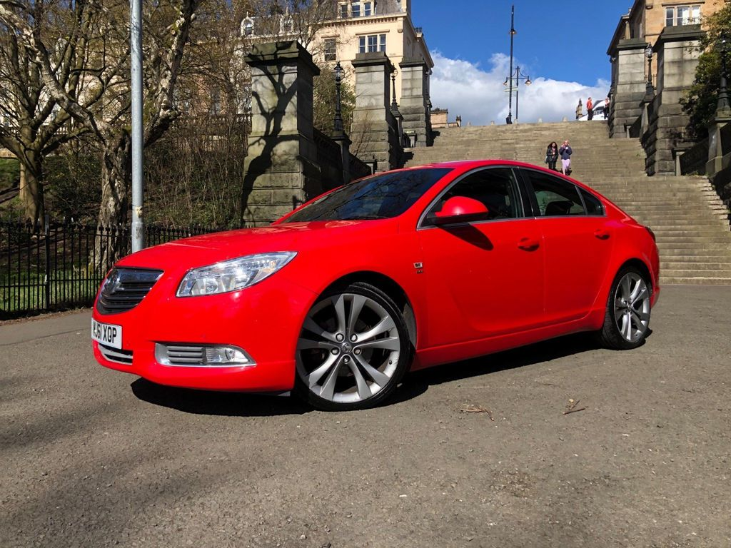 Vauxhall Insignia Hatchback 2.0 CDTi 16v SRi Red 5dr