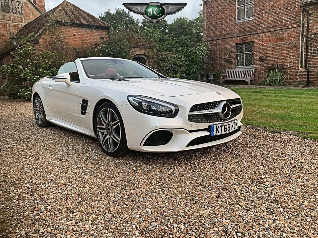 Mercedes-Benz SL Class Convertible 4.7 SL500 V8 AMG Line (Premium) G-Tronic+ (s/s) 2dr