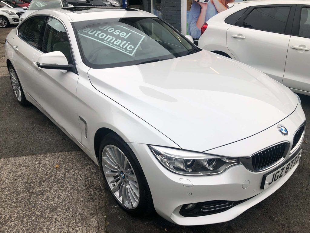 BMW 4 Series Gran Coupe Saloon 2.0 420d Luxury Gran Coupe xDrive (s/s) 4dr