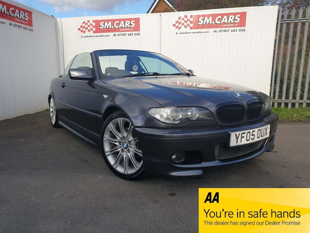 BMW 3 Series Convertible 2.2 320Ci Sport 2dr