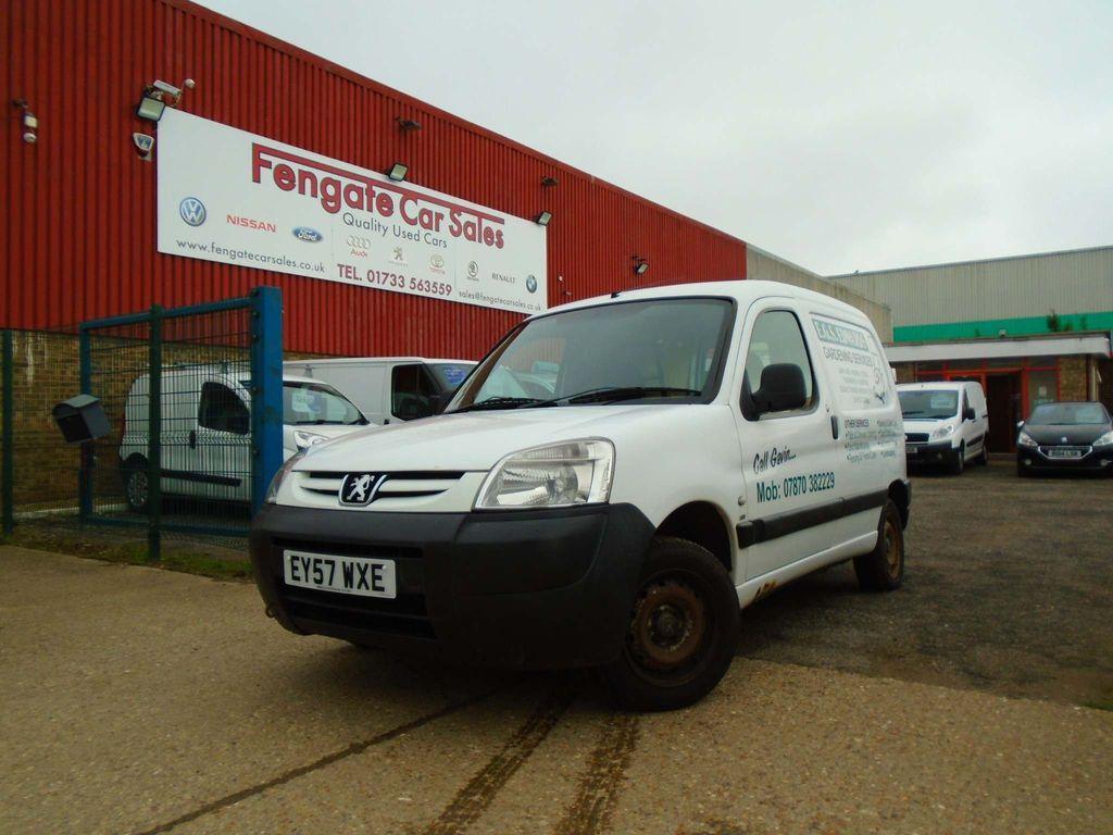 Peugeot Partner Panel Van 1.6 HDi 600LX 4dr