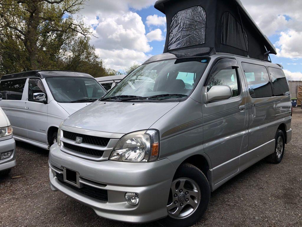Toyota HIACE REGIUS POP TOP 4 BERTH FULL NEW SIDE CAMPER Campervan CONVERSION LOW MILES 51K LPG