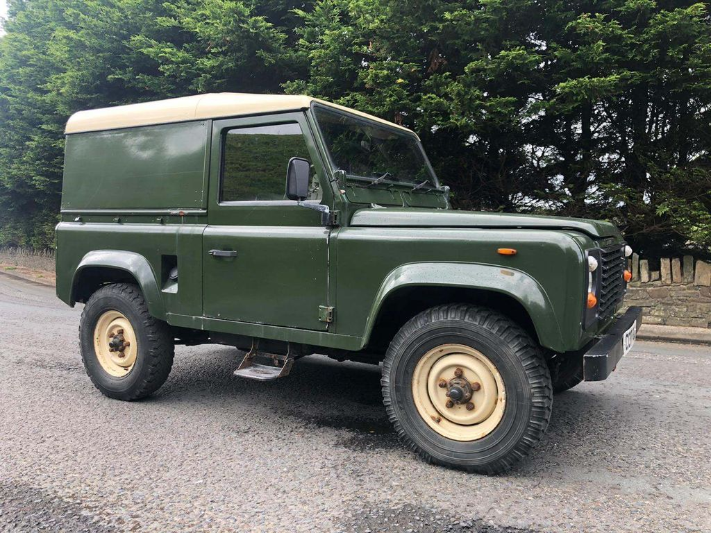 Land Rover 90 SUV 2.5 D Hard Top