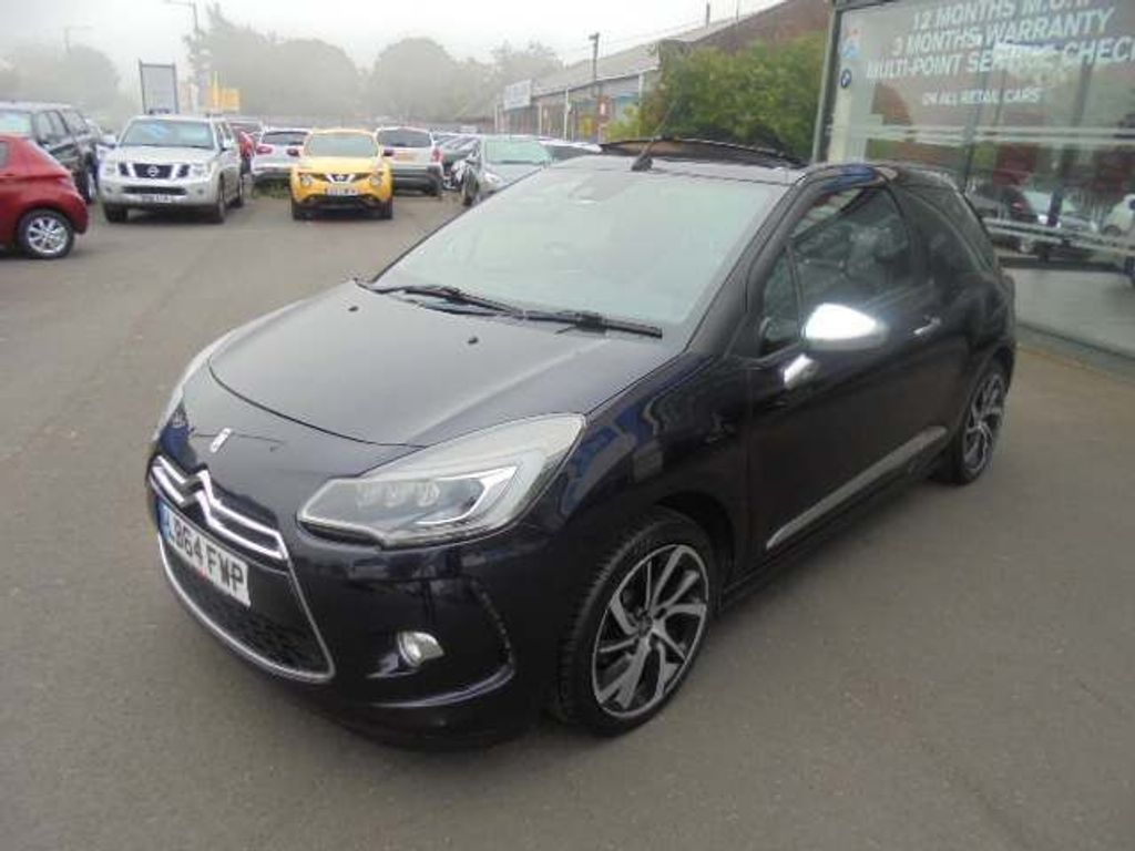 Citroen DS3 Cabrio Convertible 1.6 BlueHDi DSport Plus Cabriolet 2dr