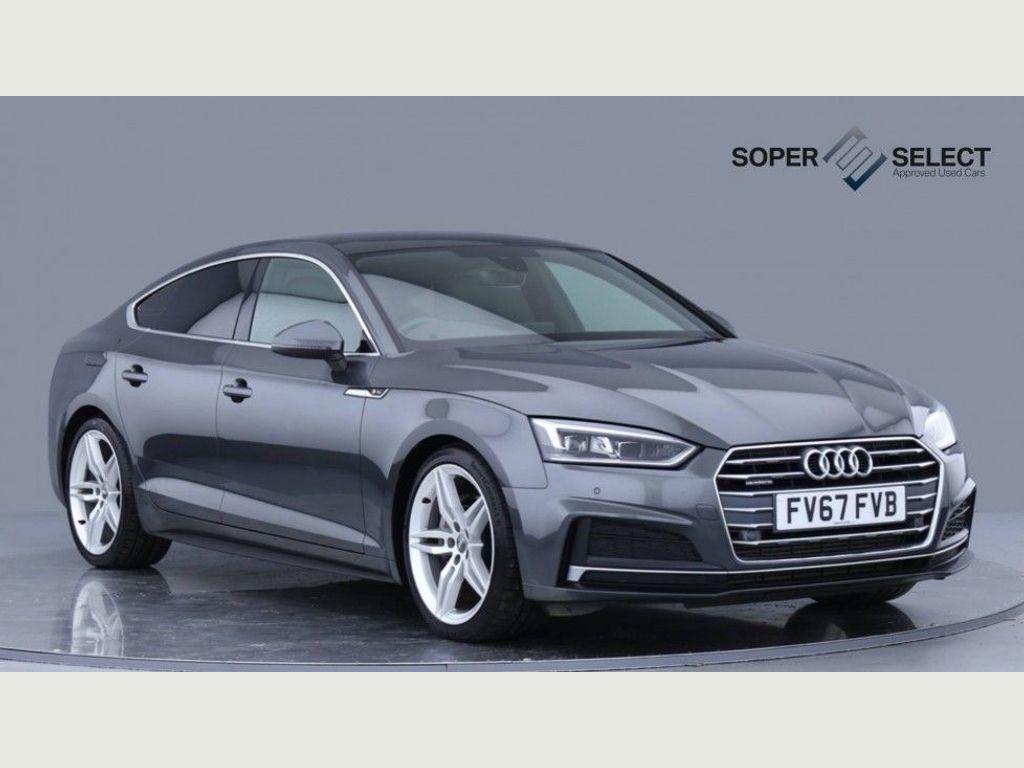 Audi A5 Hatchback 3.0 TDI V6 S line Sportback S Tronic quattro (s/s) 5dr