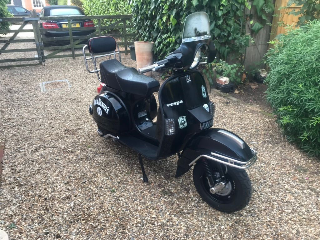 PIAGGIO T5 Scooter {Edition unlisted}