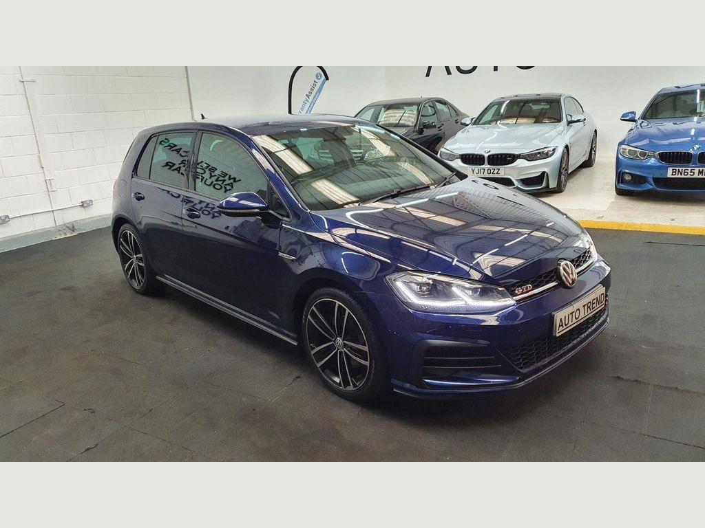 Volkswagen Golf Hatchback 2.0 TDI BlueMotion Tech GTD BlueLine (s/s) 5dr