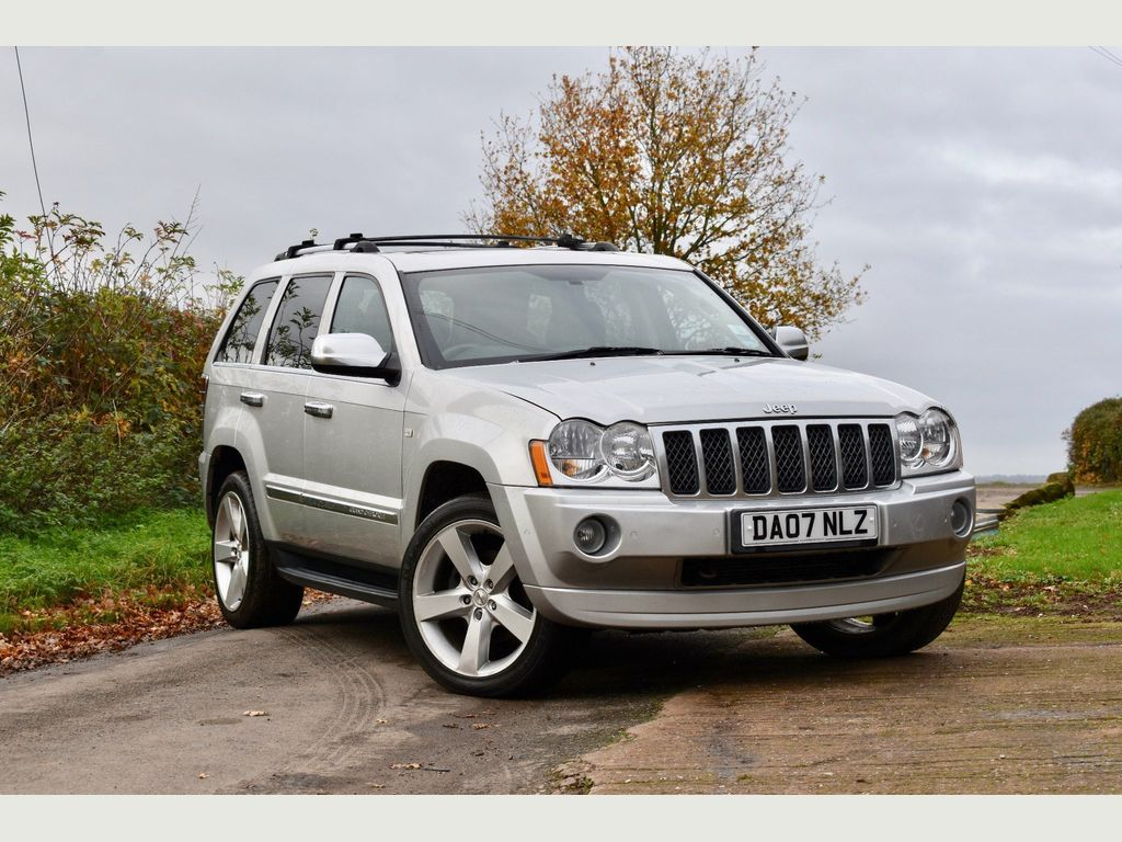 Jeep Grand Cherokee SUV 3.0 CRD V6 Overland 4x4 5dr