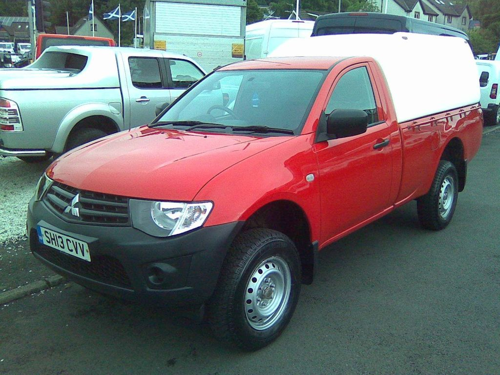 Used Mitsubishi L200 Pickup 2 5 Di D Cr 4work Single Cab 4wd 2dr Eu5 In Dumbarton West Dunbartonshire Lomond Van Centre