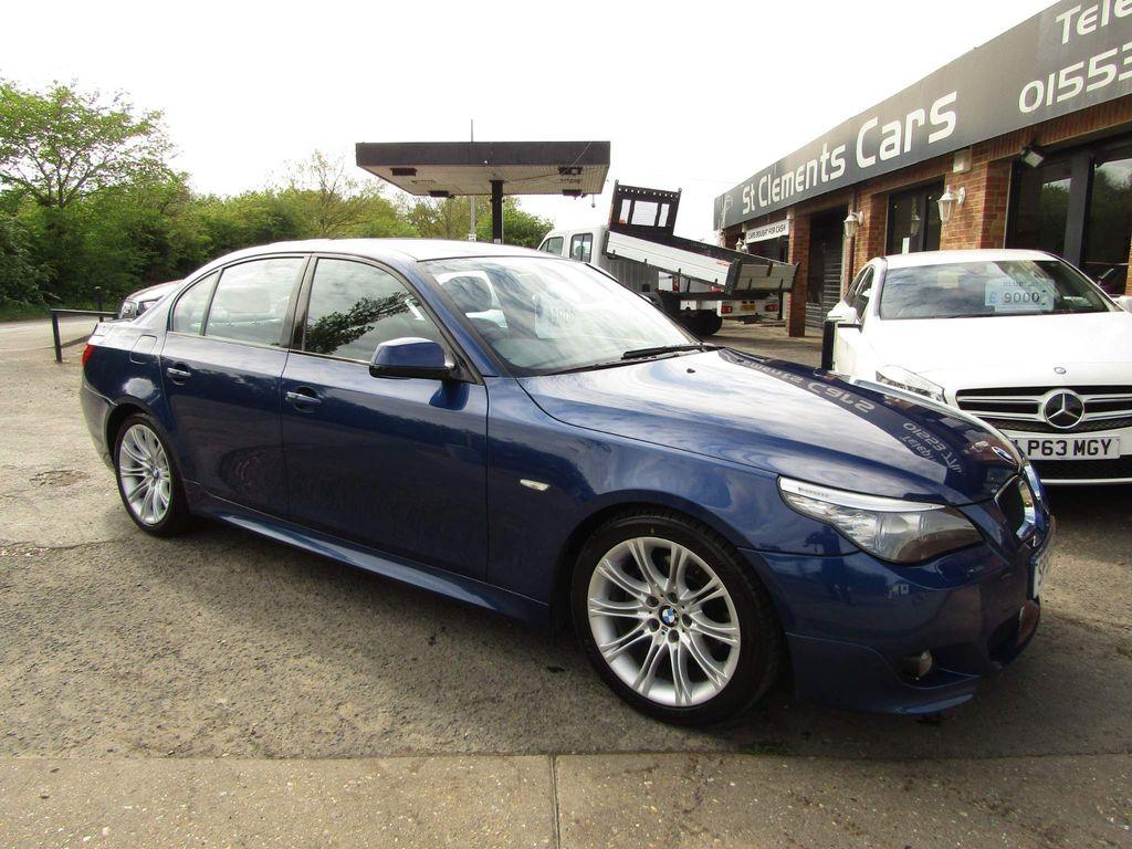 BMW 5 Series Saloon 2.0 520d M Sport 4dr