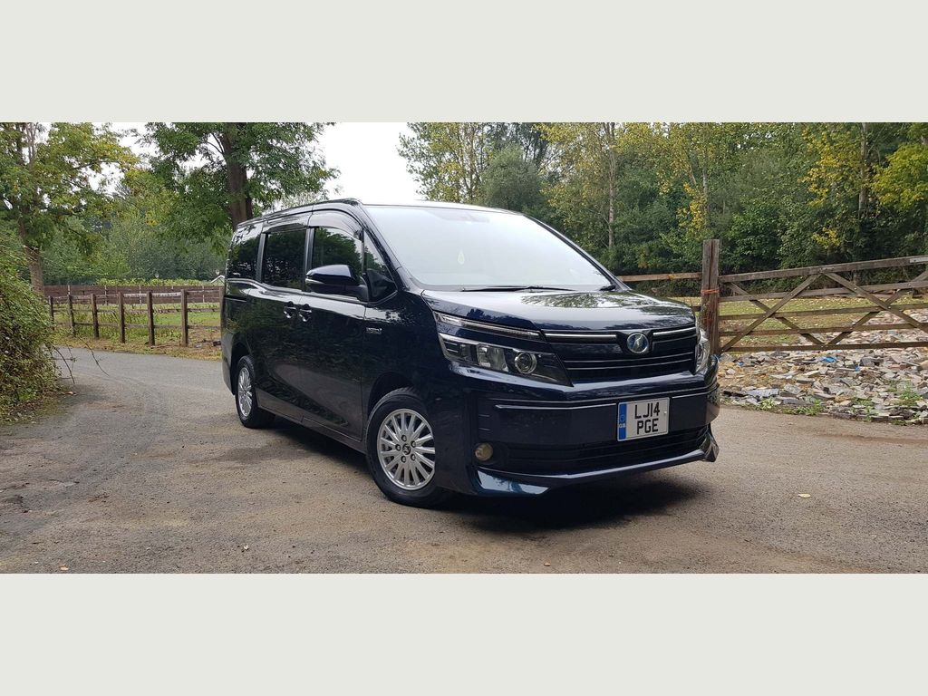 Toyota Voxy Unlisted