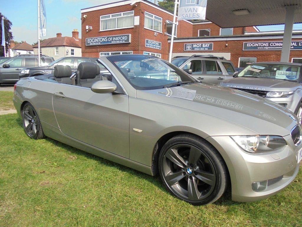 BMW 3 Series Convertible 3.0 325d SE 2dr
