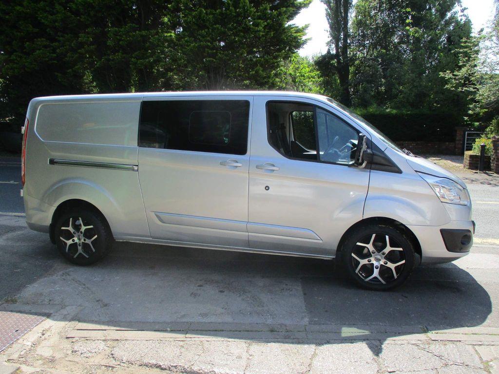 Ford Transit Custom Combi Van 2.2 TDCi 290 Limited Double Cab-in-Van L2 H1 6dr