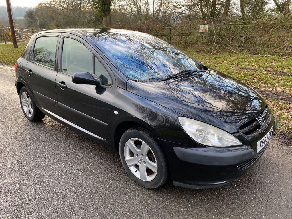 Peugeot 307 Hatchback 1.6 16v GLX 5dr (a/c)