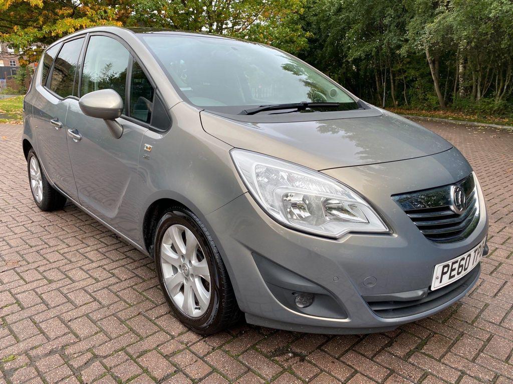 Vauxhall Meriva MPV 1.7 CDTi SE Auto 5dr