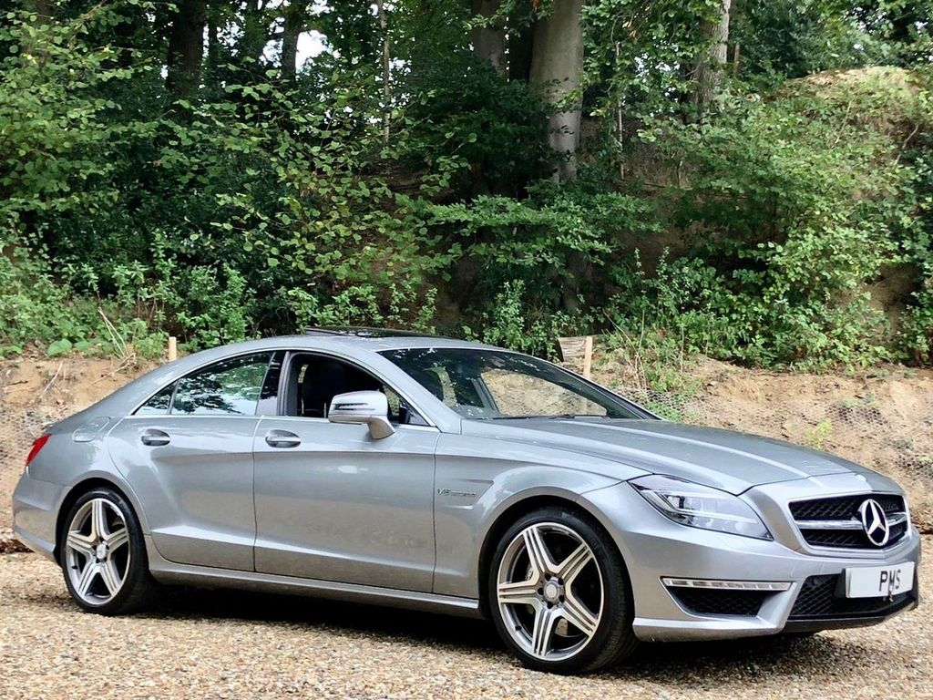 Mercedes-Benz CLS Coupe 5.5 CLS63 AMG MCT 4dr