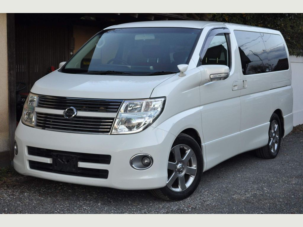 Nissan Elgrand Unlisted HIGHWAY STAR RED LEATHER FRESH IMPORT