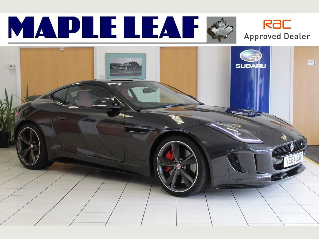 Jaguar F-Type Coupe 5.0 V8 Supercharged R 2dr