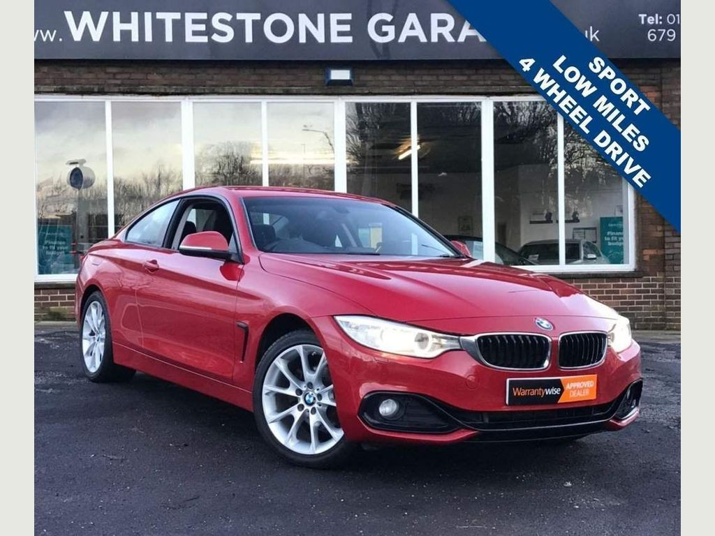 BMW 4 Series Coupe 2.0 420i Sport xDrive 2dr