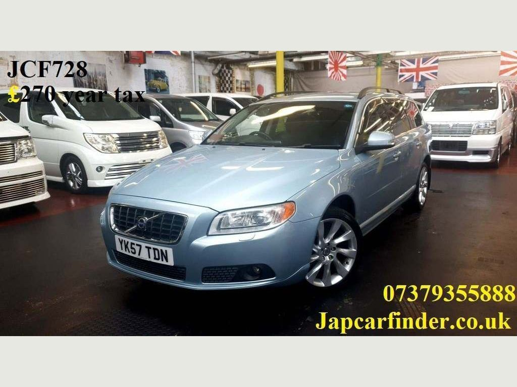 Volvo V70 Estate SE Geartronic £270 year raod tax satnav