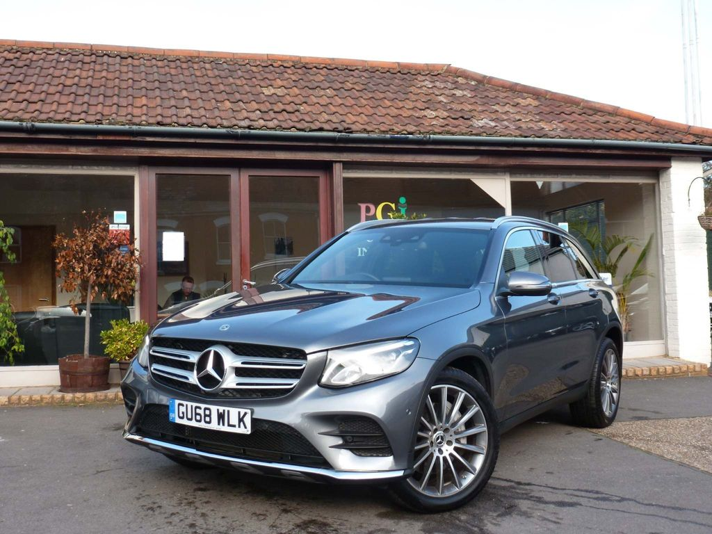Mercedes-Benz GLC Class SUV 3.0 GLC350d V6 AMG Line G-Tronic+ 4MATIC (s/s) 5dr
