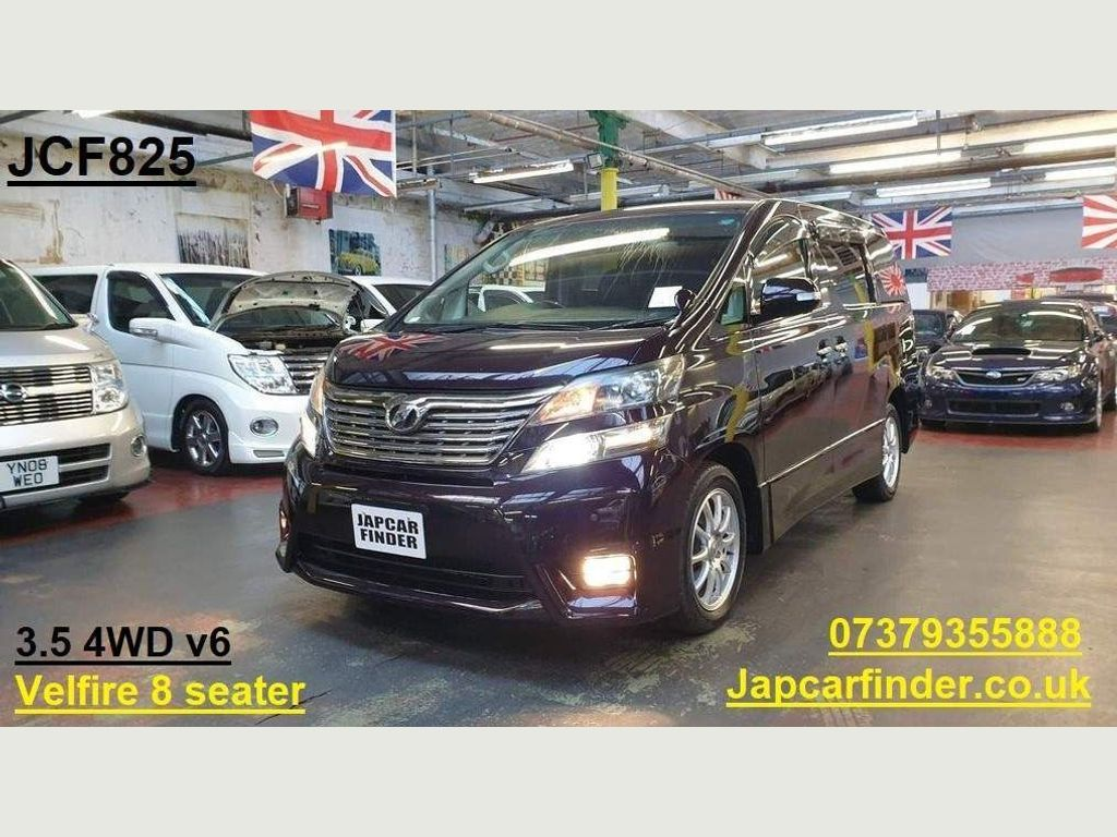 Toyota Vellfire MPV 3.5 Z 4WD Model Leather covers 8 seater