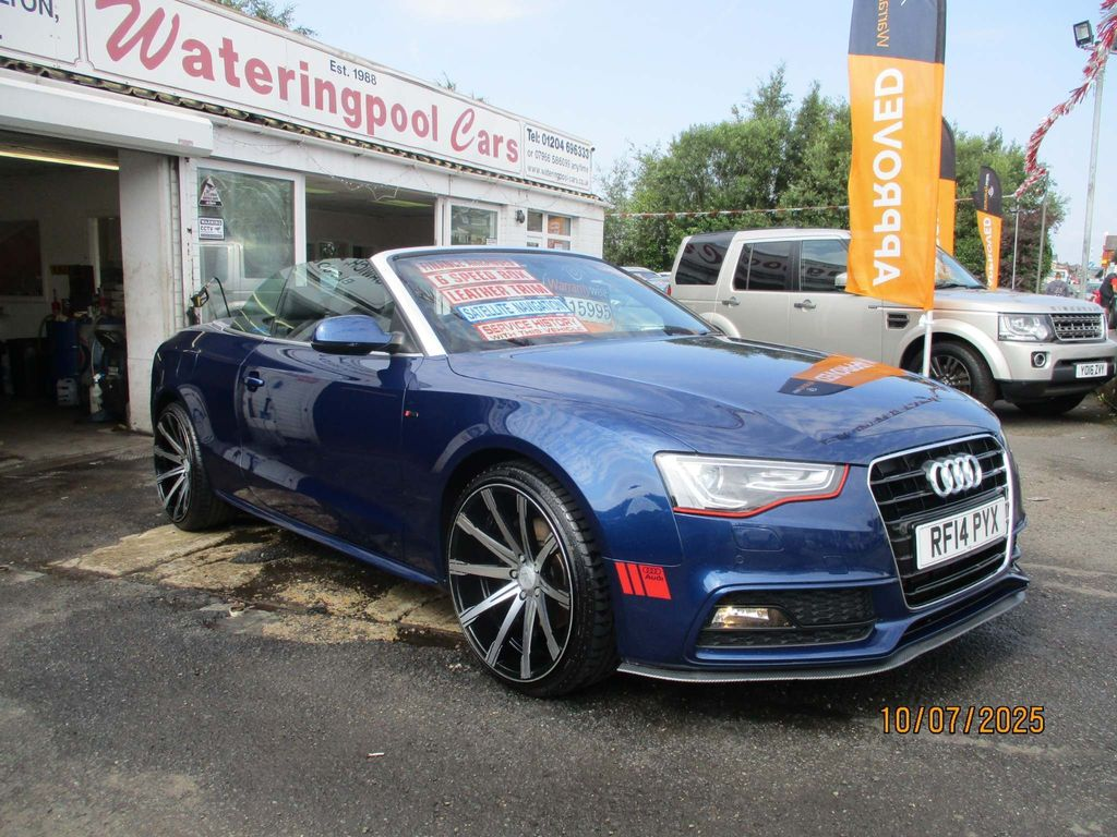 Audi A5 Cabriolet Convertible 2.0 TFSI S line Special Edition Cabriolet 2dr