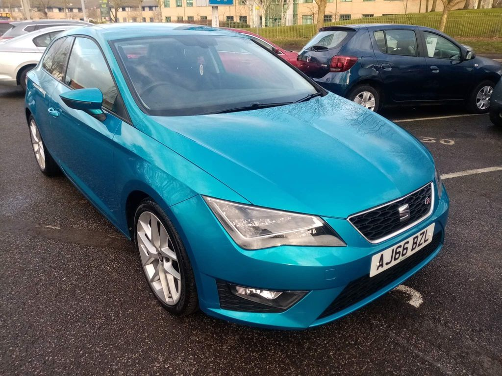 SEAT Leon Hatchback 1.4 EcoTSI FR (Tech Pack) SportCoupe (s/s) 3dr