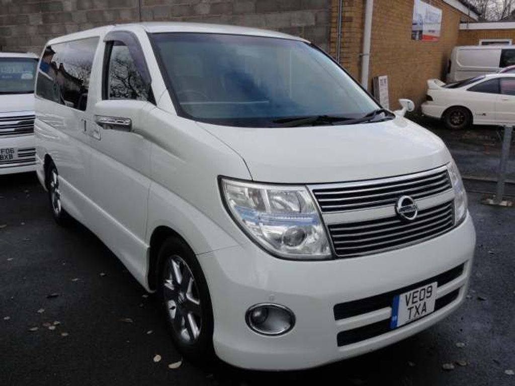Nissan Elgrand MPV HIGHWAY STAR BROWN LEATHER EDITION